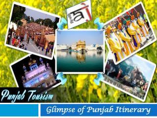 Glimpse of Punjab Itinerary