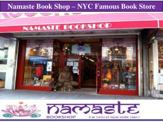 Namaste Book Shop – NYC Famous Book Store
