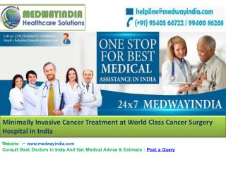 Best Hospital For Cancer Treatment in India