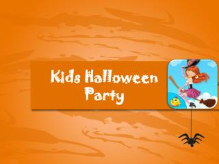 Kids Halloween Party - Toddler Games