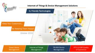Friendly Technologies - TR-069 Device Management Oct 2015