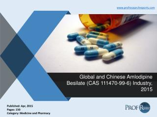 Global and Chinese Amlodipine Besilate Industry Analysis, Market Trends 2015