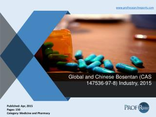 Bosentan Industry Share, Market Trends 2015 | Prof Research Reports