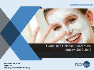Facial mask Industry Size, Market Share 2009-2019 | Prof Research Reports
