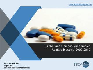 Vasopressin Acetate Industry Growth, Market Size 2009-2019 | Prof Research Reports