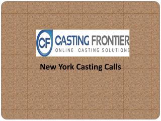 New York Casting Calls
