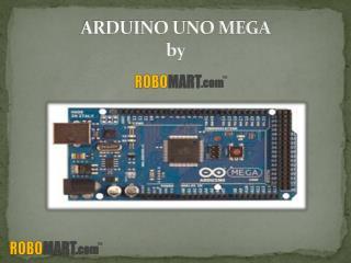 Arduino uno mega By Robomart