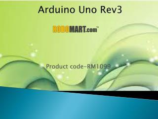 Arduino Uno Rev3 By Robomart