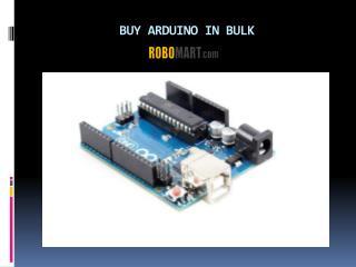 Buy Arduino In Bulk