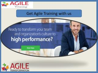 Scaling Agile Training