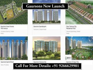 Gaursons New Launch