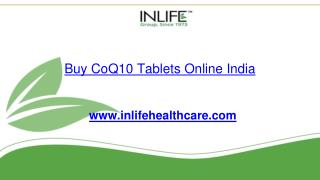 Buy CoQ10 Tablets Online India | Inlifehealthcare