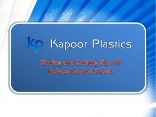 Storing and Cutting Tips for Polycarbonate Sheets
