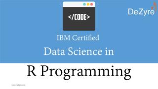 IBM Certified Data Science in R Programming Course