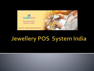 Jewellery POS System India