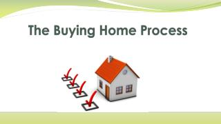 The Buying Home Process