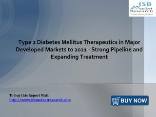 Type 2 Diabetes Mellitus Therapeutics Market: JSBMarketResearch