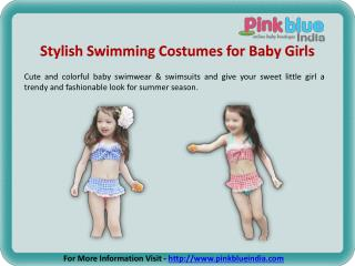 Fashionable Baby Girl Swimsuits in India