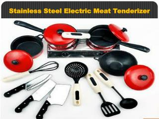 Stainless Steel Electric Meat Tenderizer