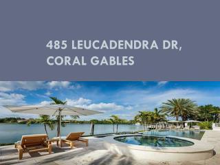 485 LEUCADENDRA DR, Coral Gables