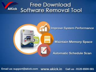 Free Uninstall Software | AKick Perfect Uninstaller