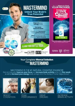 Apex Mastermind Brain Supplement - FREE TRIAL