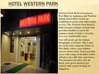 Hotel Western Park