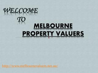 Get Property Valuers for house valuations from Melbourne