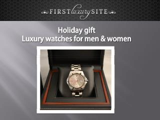 Holiday gift watches