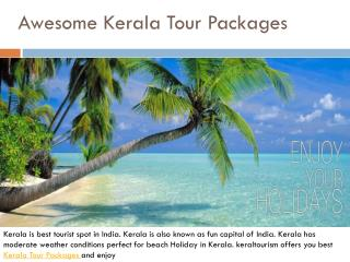 Awesome Kerala Tour Packages