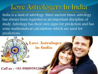 Love astrologer in India