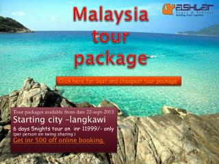 best malaysia tour package