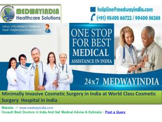 Best Cosmetic Surgery Hospital India