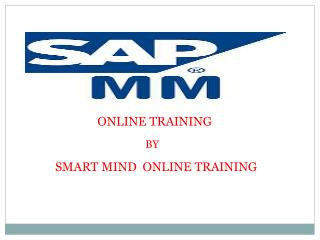 The Best SAP MM Online Training With  Certification