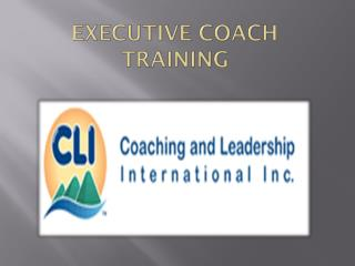 Executive Coach Training