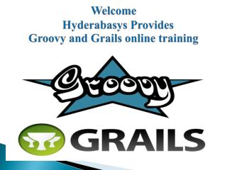 groovy and grails online training