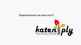 The Plywood House can save you!!