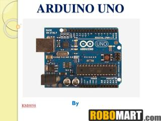Arduino UNO India Price by Robomart India