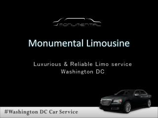 #Washington DC Limo service