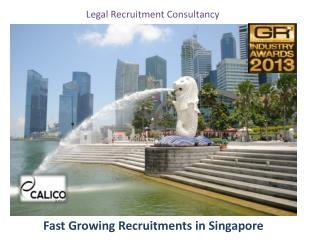 Fast Growing Recruitments in Singapore