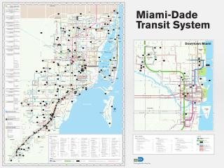 Miami Dade Transit Map