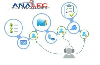 ANALEC ClientManager - Call List Manager, Client Relationship Management, Account Management