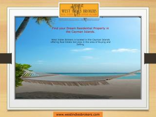 One stop place for finding best Property in Cayman