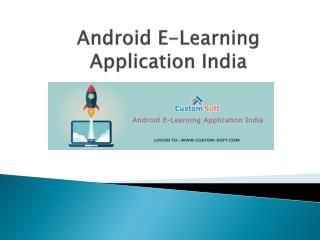 Android E-Learning Application India