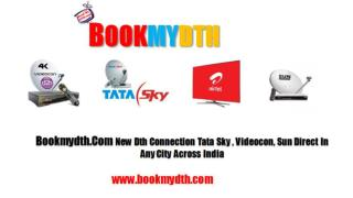 DTH Packages | Airtel Digital TV | Tata Sky Packages At Bookmydth.com