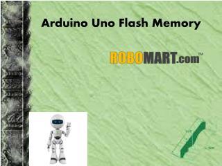 Arduino uno flash memory by robomart