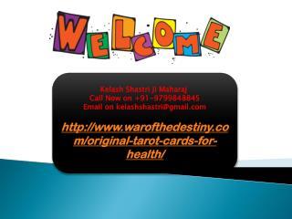 Original Tarot Cards For Health, 9799848845
