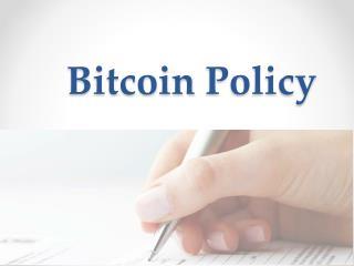 Bitcoin Policy