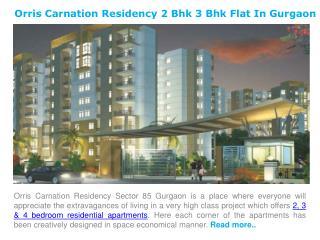 Carnation Residency 2 Bhk 3 Bhk Flat for Sale in Gurgaon