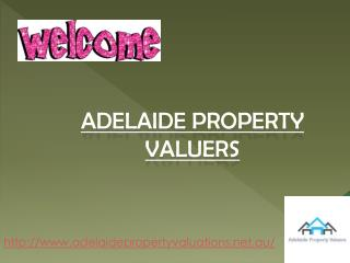 Hiring Property Valuers with land valuations for Adelaide